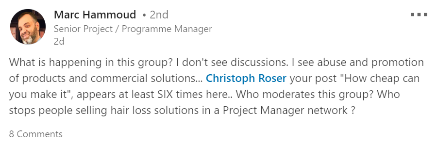 top responsive LinkedIn groups for project managers