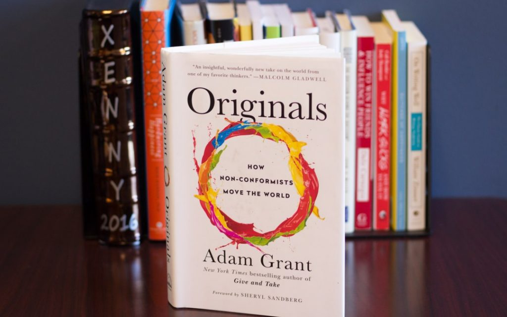 Originals: How Non-Conformists Move the World by Adam Grant - top books for project managers