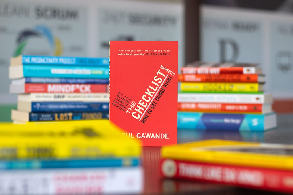 The Checklist Manifesto by Atul Gawande - top books for project managers