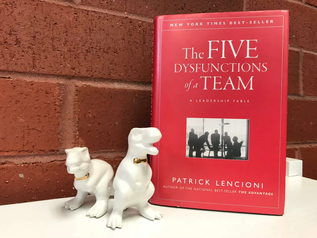 The Five Dysfunctions of a Team by Patrick Lencioni - best books for project managers